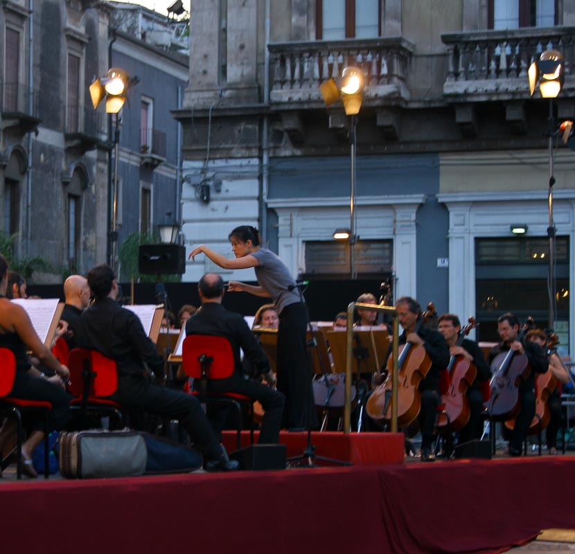 Image of musical event in Italy