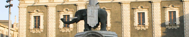 Photo of elephant in Catania