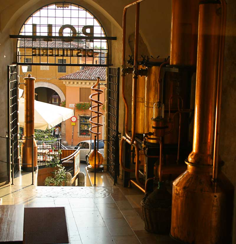 Image of Poli museum and grappa distillery