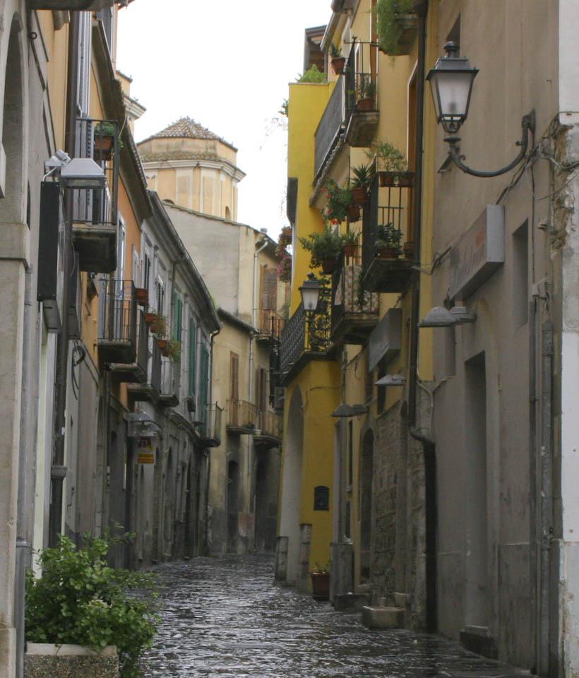 A stop on Via Traiana Italy