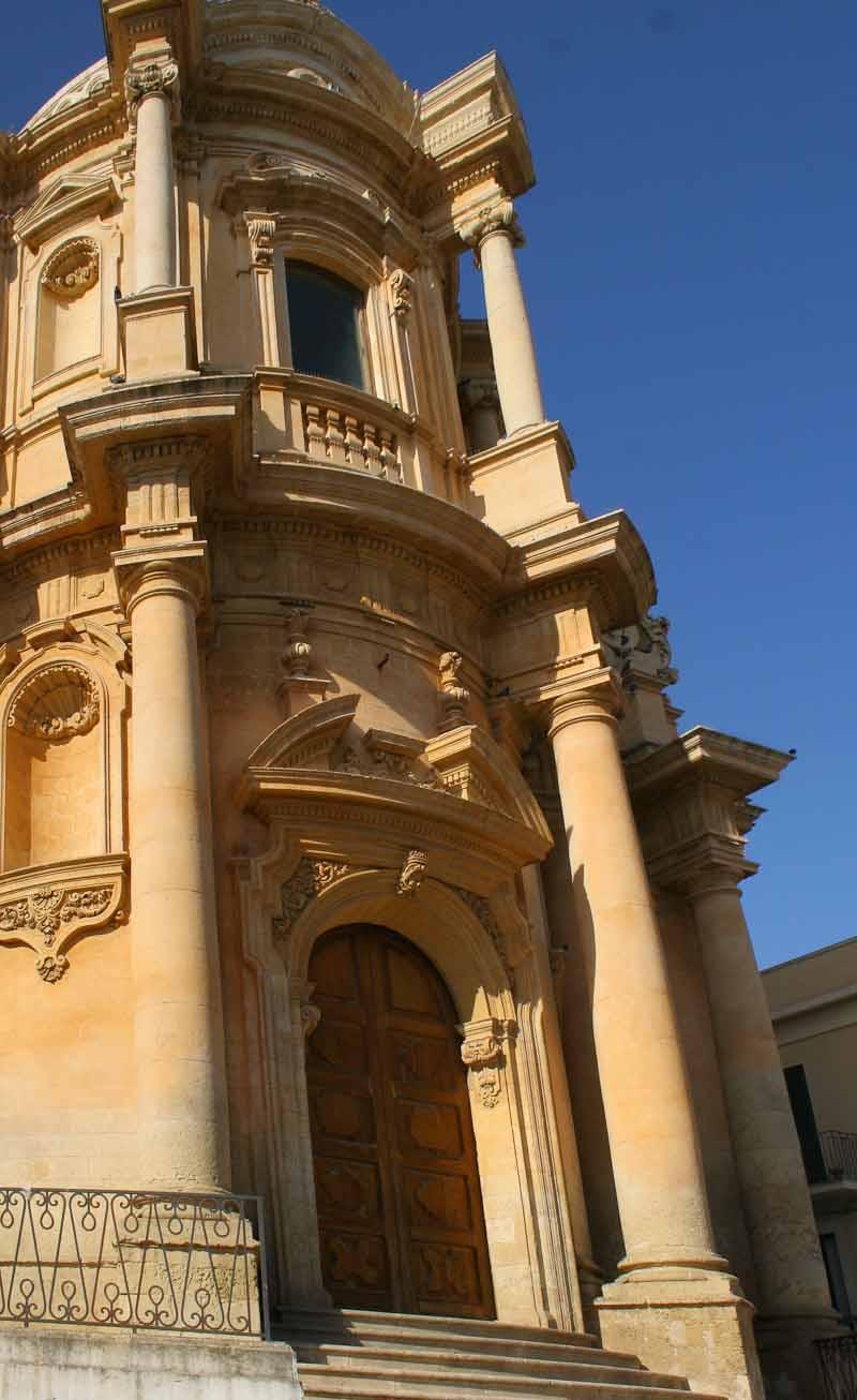 Lost in Noto in Sicily
