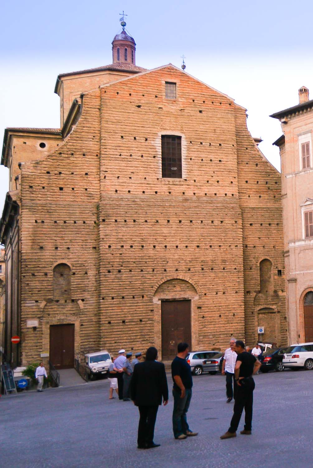 use of rustication in Italy