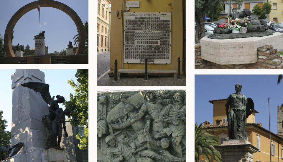 war memorials in Italy