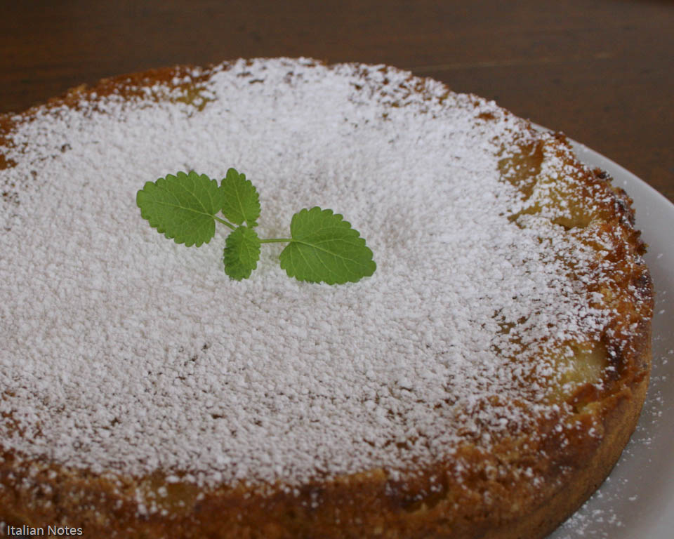 Italian apple cake recipe