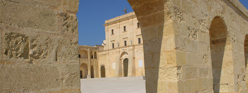 Image of the the monastery in Santa Maria di Leuca
