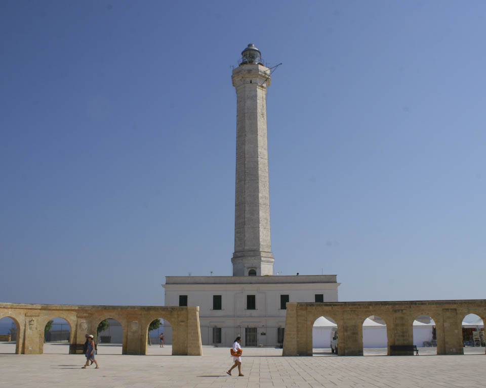 The lighthouse at 'De Finibus Terrae' in Leuca