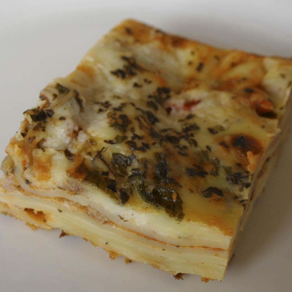 real lasagne recipe