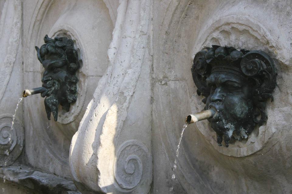 Ancona fountain
