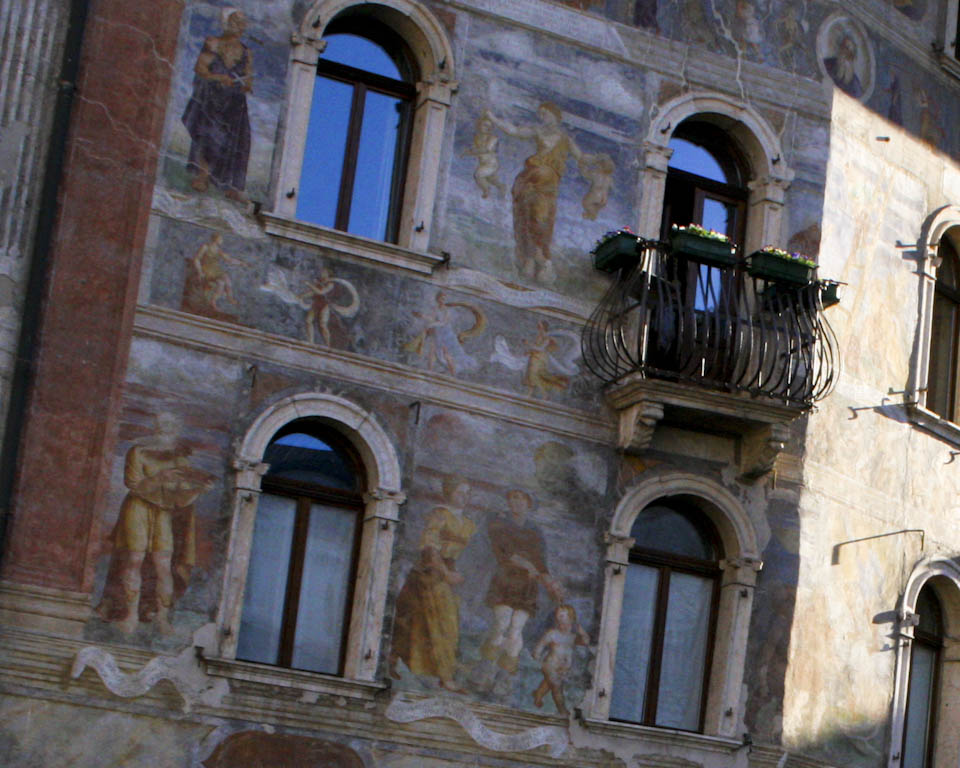 The painted house in Trento