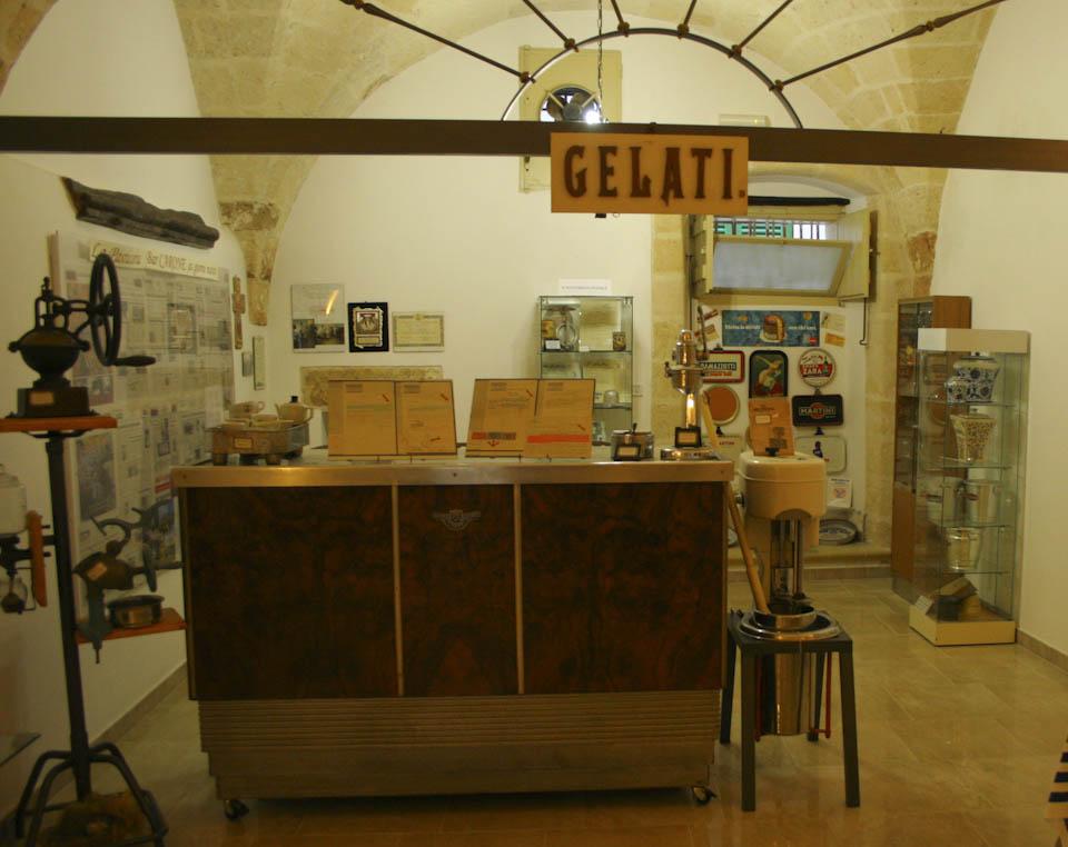 Puglias museum cafe