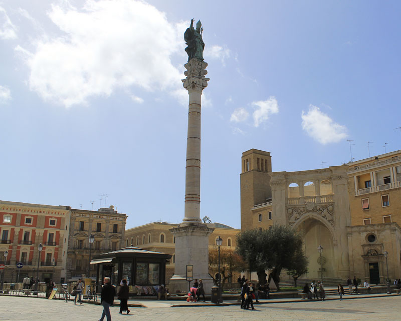 Photo of Lecce's patron saint