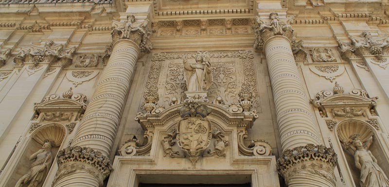 Photo of Baroque church in Lecce