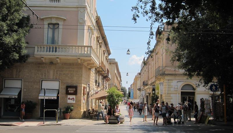 Via Salvatore Trinchese in Lecce