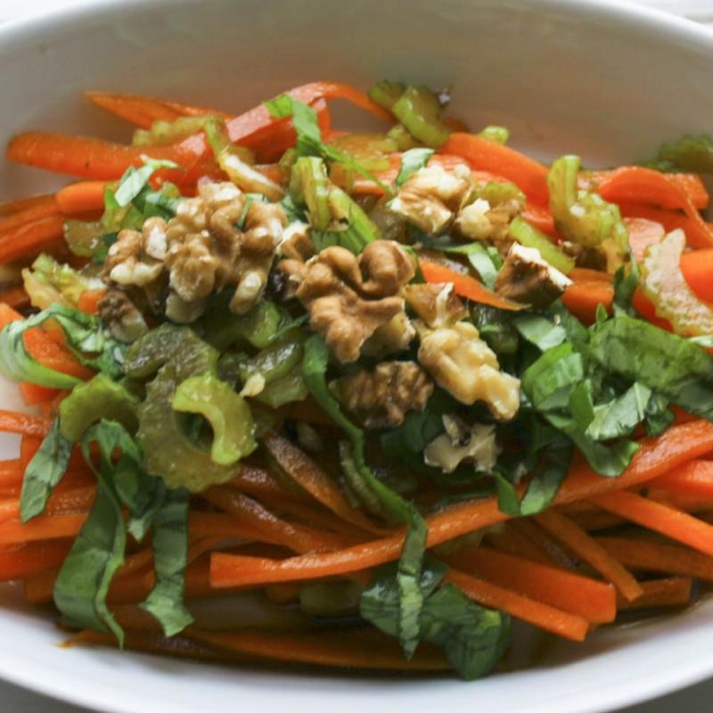 Carrot celery salad recipe