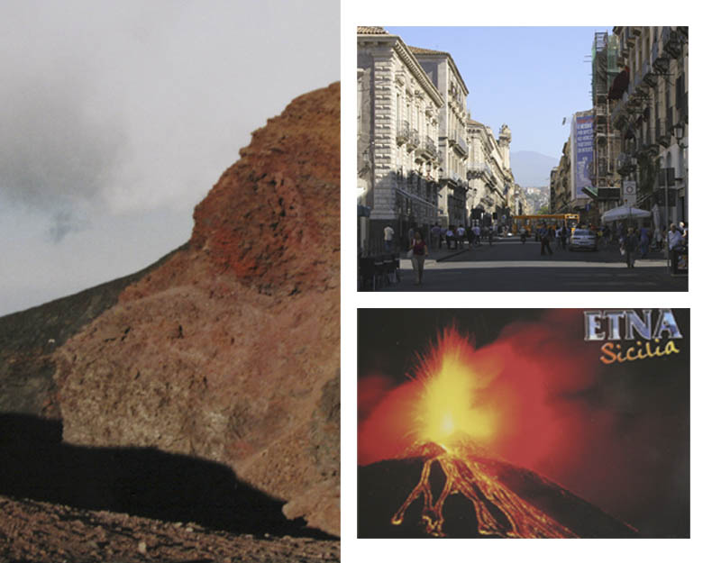 Hikes on mount Etna