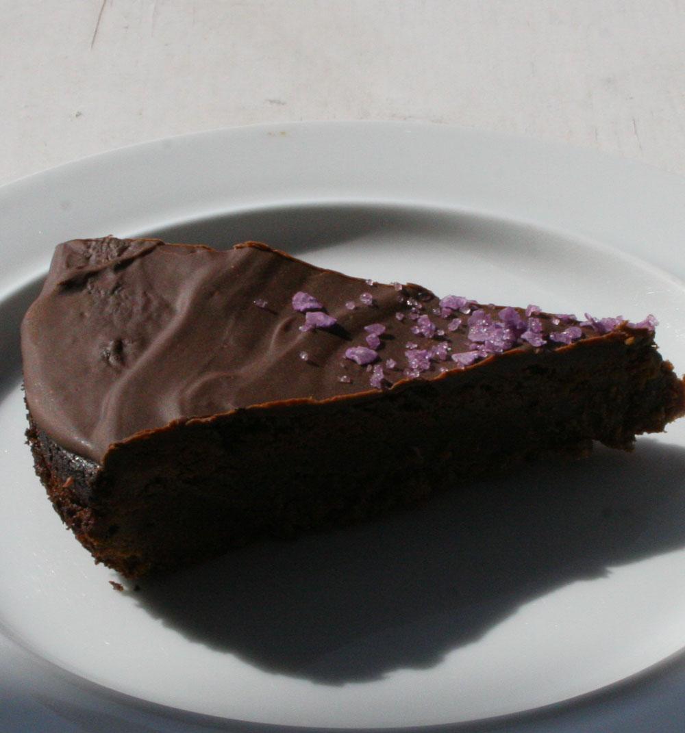 Chocolate almond cake - Italian Notes