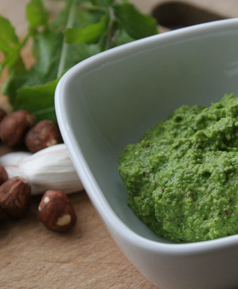 Image of arugula rocket pesto