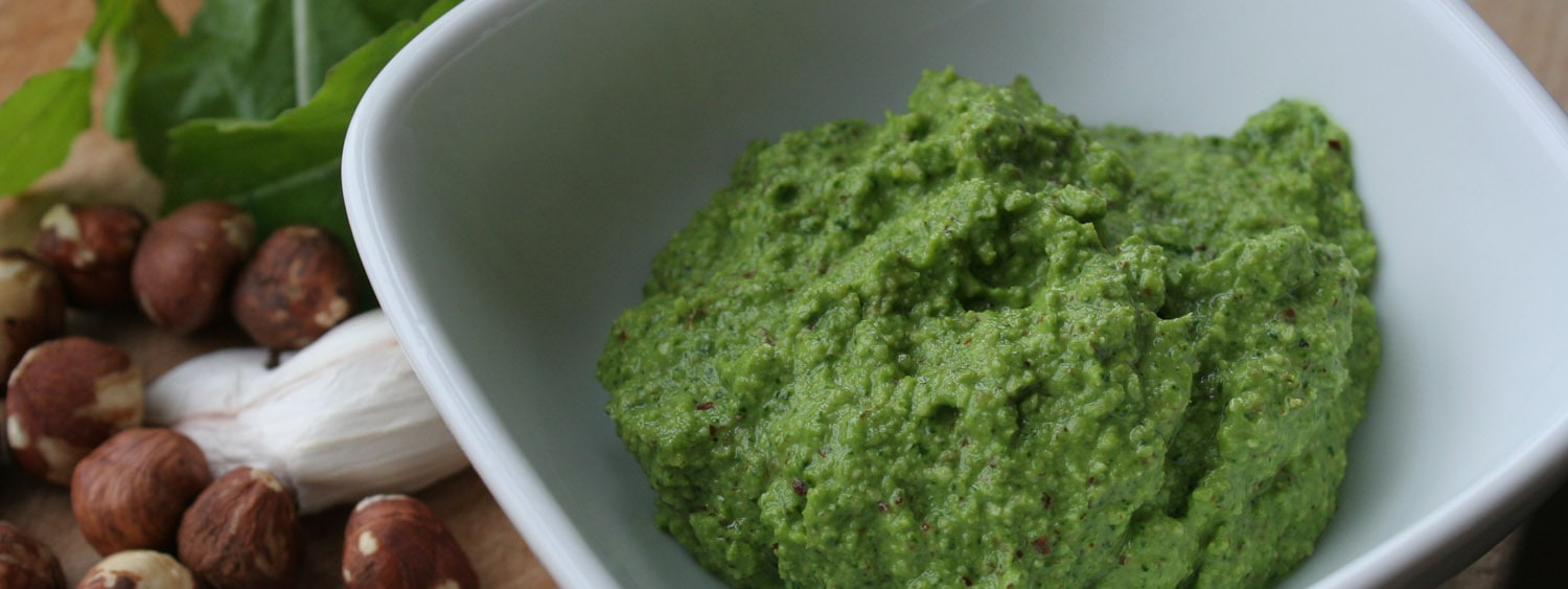 Arugula rocket pesto