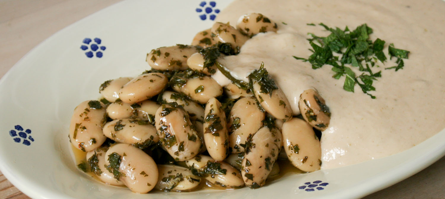 Butter beans in tuna sauce - Italian Notes