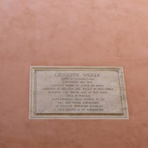 Rome Wall Plaques - Italian Notes