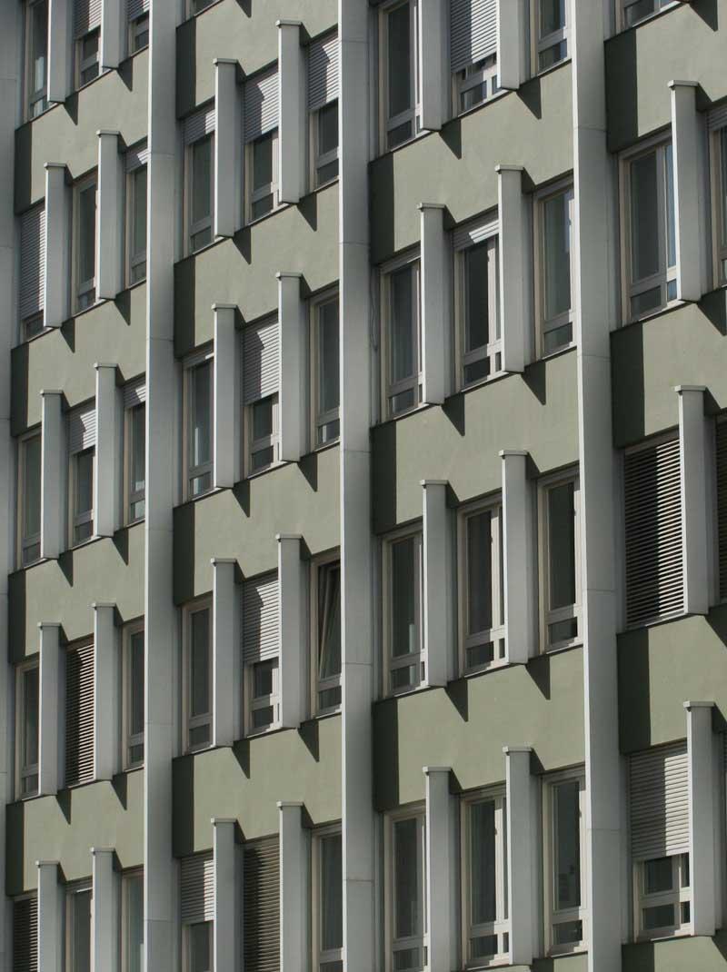 Concrete architecture in Bolzano