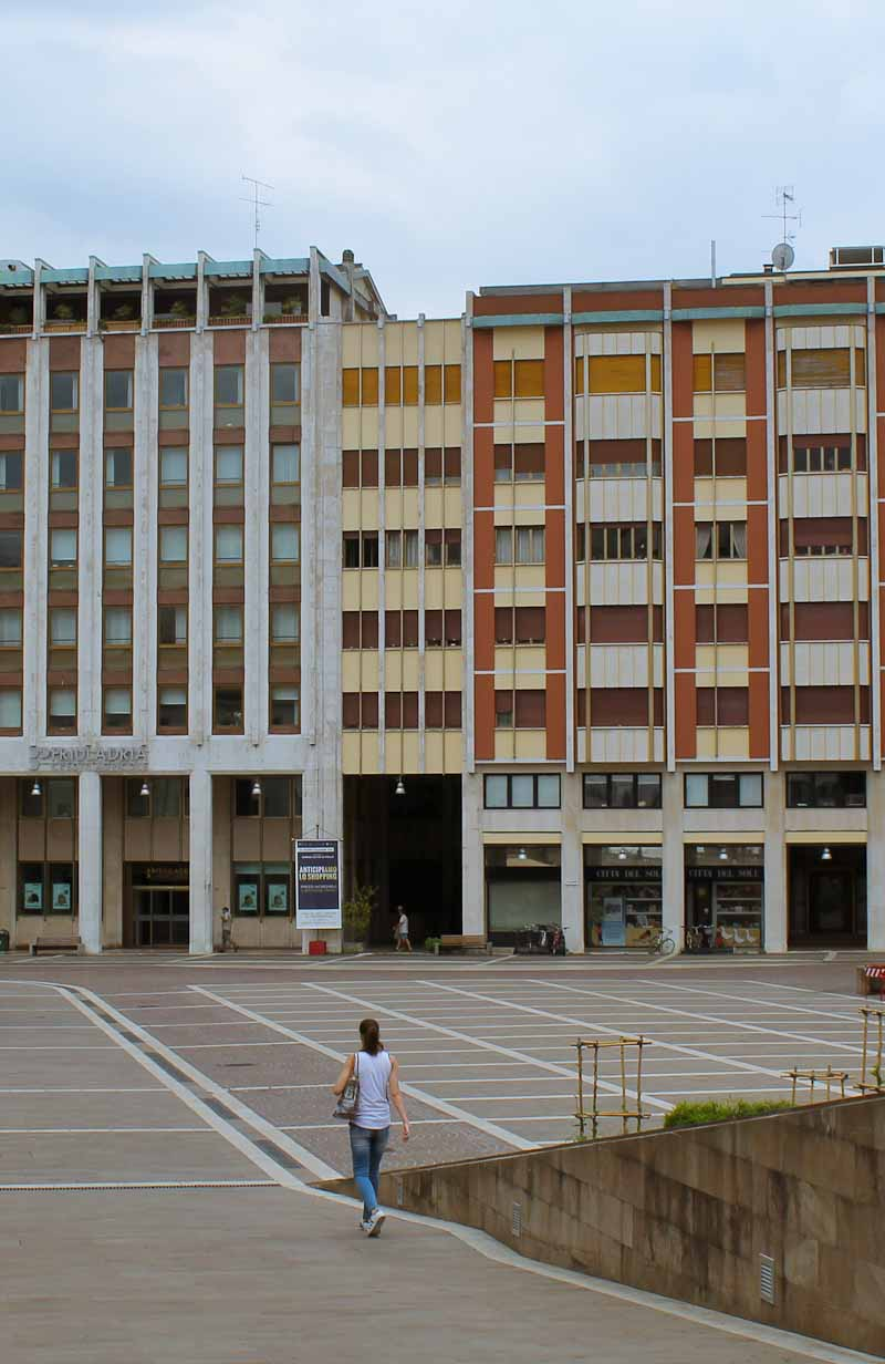 Pordenone and Concrete Side of Italy