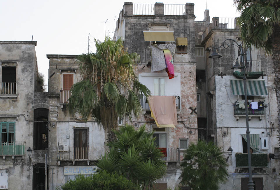 Old Decaying Houses In Taranto Show The Concrete Side Of Italy