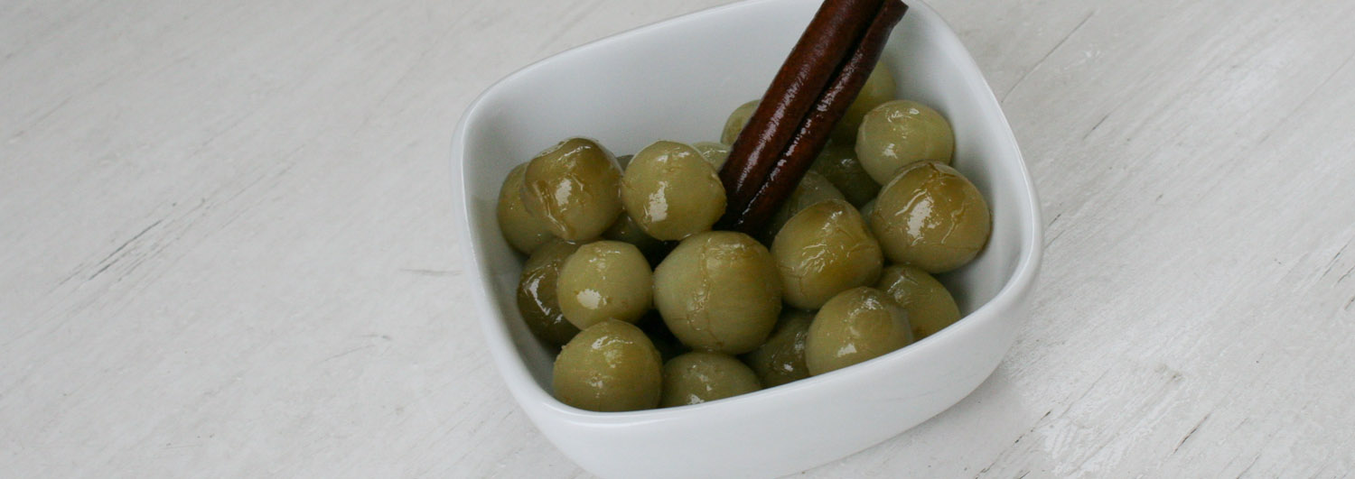 Pickled green tomatoes - Italian Notes