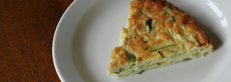 baked squash omelette - Italian Notes