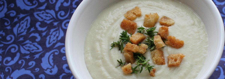 Jerusalem artichoke soup - Italian Notes