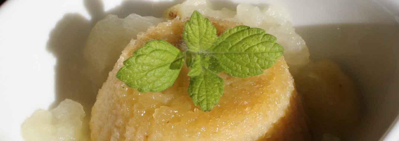 Italian Apple Pudding - Italian Notes
