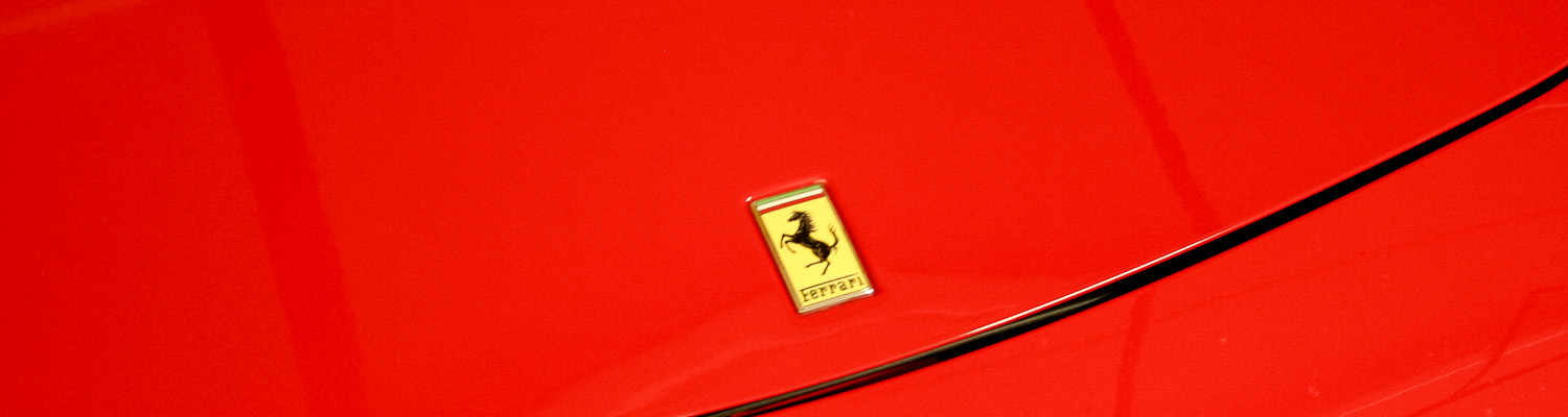 Photo of Ferrari logo - Milan for Men - Italian Notes