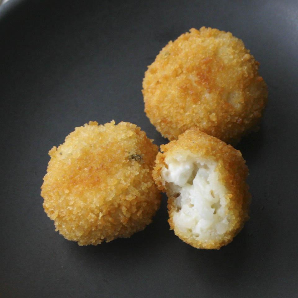 Fried rice arancini - Italian Notes