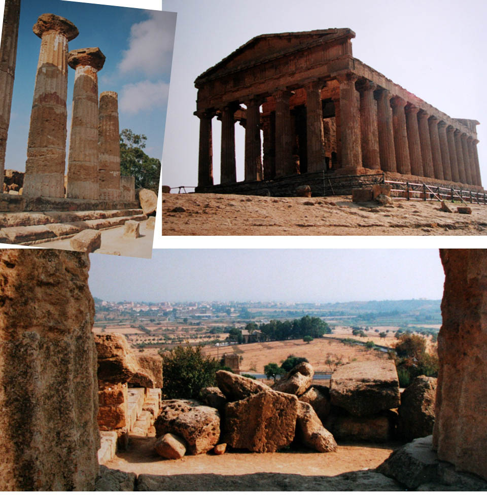 Greek temples in Sicily