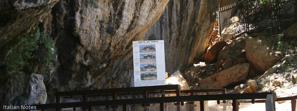 Caves in Calabria - Italian Notes
