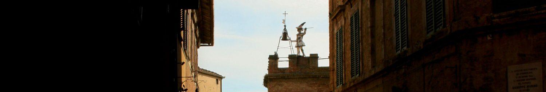 Clock Tower in Montepulciano - Italian Notes