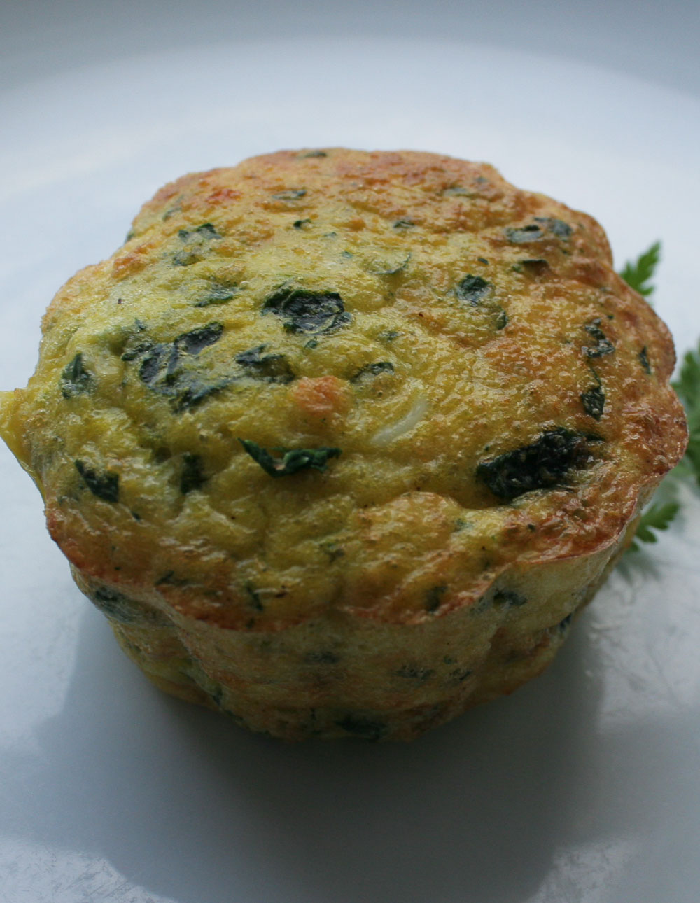 Spinach and Herb Timbale - Italian Notes