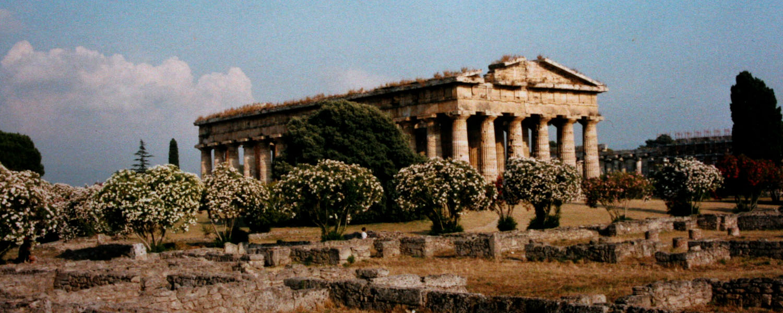 The Paestum temples