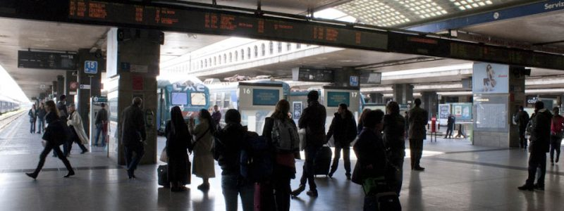 Trains to Fiumicino from Romes Termini station