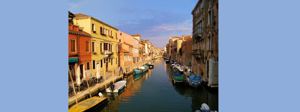 Backwaters of Venice - Italian Notes