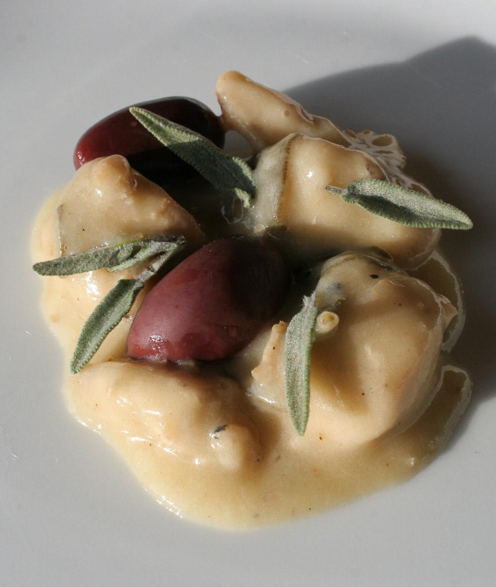 Chicken in white wine - Italian Notes