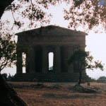 Greek temples in Sicily