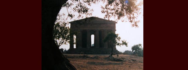 Greek temples in Sicily - Italian Notes