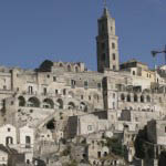 Photo of the Sassi district in Matera