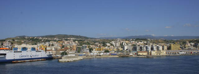 Ferry to Sicily: Whirlpools around the Strait of Messina