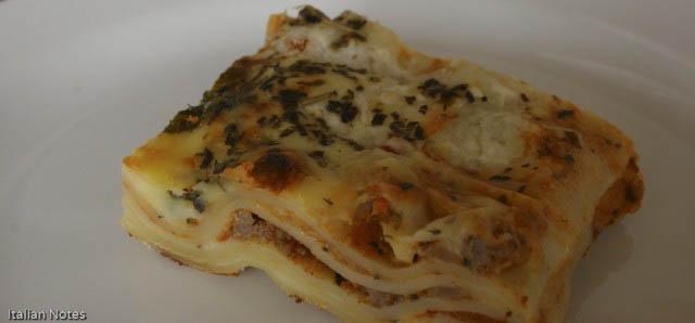 Real lasagne