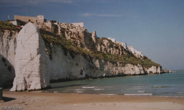 The invasions of Vieste