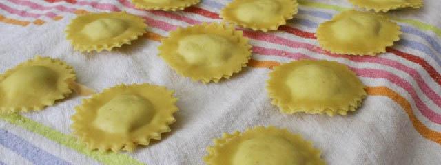 Three cheese ravioli recipe