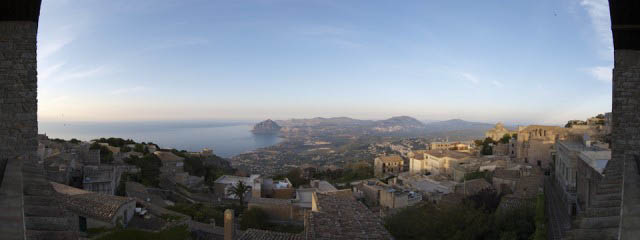 Sipping Marsala wine in Erice - Italian Notes