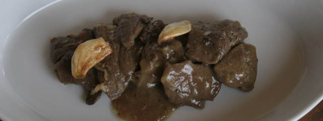 Veal marsala – scallops in fortified wine